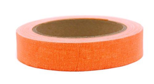BookGuard 1 Inch Premium Cloth Bookbinding Repair Tape | 15 Yard Roll (Orange)
