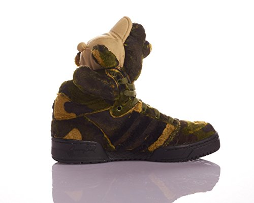 Adidas Jeremy Scott CAMO BEAR Jaune-Vert Q20917