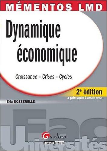 Lire un Mémentos LMD - Dynamique économique pdf