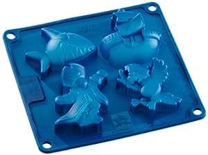 Birkmann 471139 molde de silicona dise o del capitan sharky hogar - Moldes silicona amazon ...