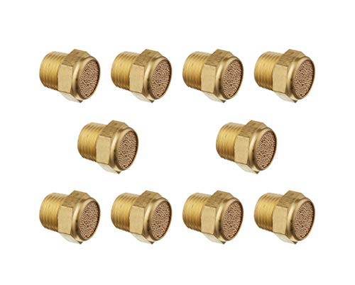 Karcy Pack of 10 Brass 1/4