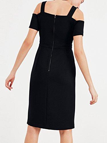 Outline - Vestido - Estuche - Sin mangas - para mujer negro