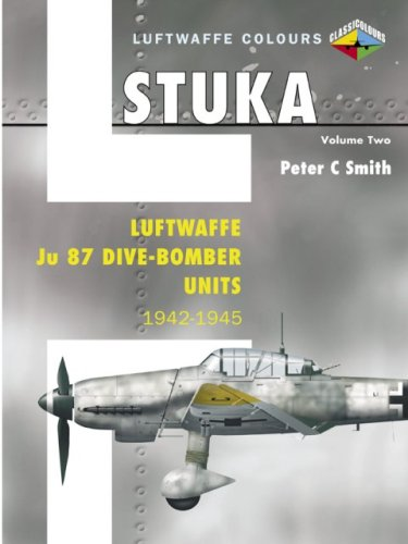 Stuka Volume Two: Luftwaffe Ju 87 Dive-Bomber Units 1942-1945 (Luftwaffe Colours)