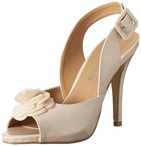 Little Mistress Damen Eirenne Pumps Elfenbein (Nude)