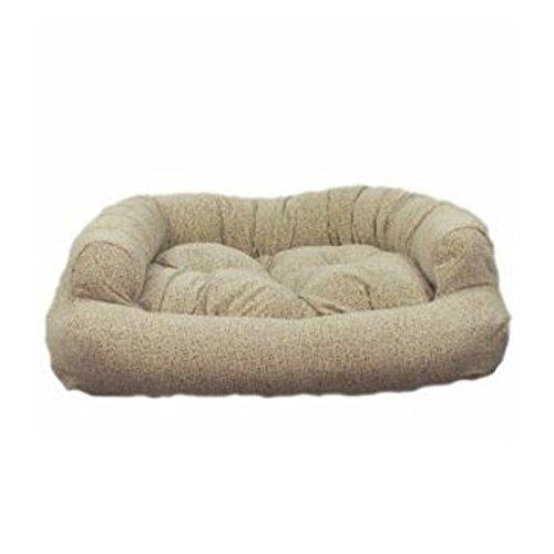 Snoozer Luxury Micro Suede Overstuffed Pet Sofa in Dark Brown