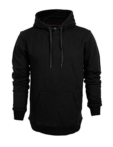 LESSIE Unisex Sport Hoodie Sweatshrit M Black