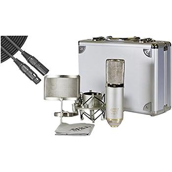 mxl v67g he large capsule condenser microphone heritage edition w case shock mount. Black Bedroom Furniture Sets. Home Design Ideas