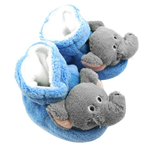 KF Baby Animal Soft Sole Booties, for 3 - 12 Months - (Infant Animal Slippers)