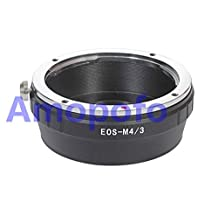 Amopofo EOS-M4/3 Adapter Canon EOS EF EF-S mount lens to Olympus PL1 GF1 OM-D Panasonic GH4 GX7 BMPCC