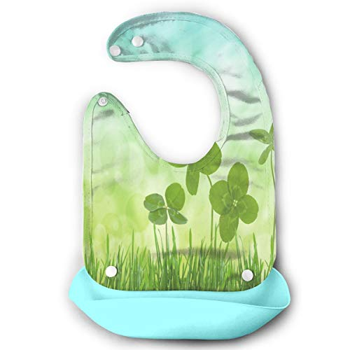 Baby Bibs March Newsletter For Seniors Silicone Dismountable Waterproof