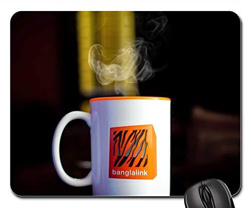 Mouse Pads - Cup Tea Hot Smoke Wallpaper