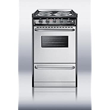 Summit TEM110BRWY Kitchen Cooking Range, Stainless Steel
