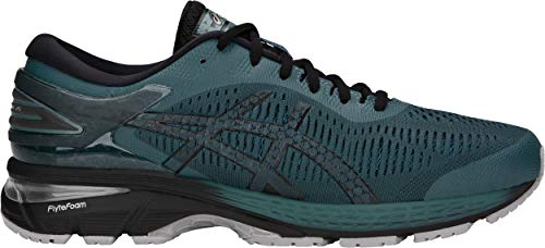 ASICS Men's Gel-Kayano 25 Running Shoe, Iron Clad/Black, 9.5 D(M) US