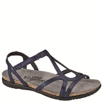 NAOT Footwear Women's Dorith Sandal Polar Sea Leather 5 M US