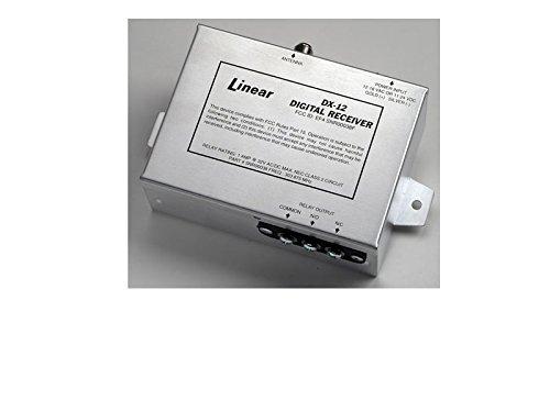 Linear DX-12 1-Channel Metal Case Receiver, Aluminum