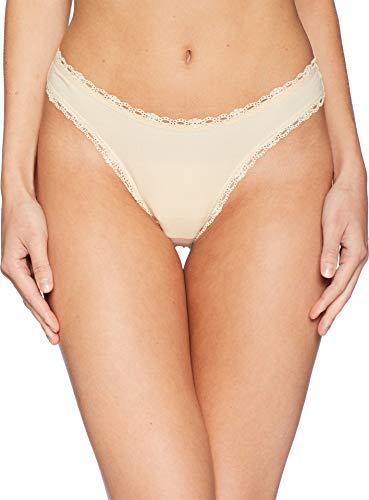 Cosabella Cotton Thongs - Cosabella Soft Cotton Low Rise Thong, M/L, Blush