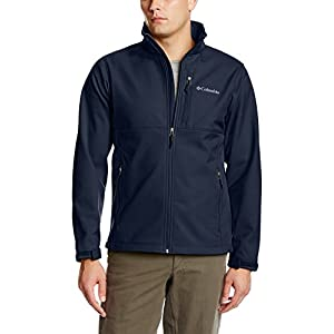 Columbia Men's Ascender Softshell Jacket, Collegiate Navy, Large