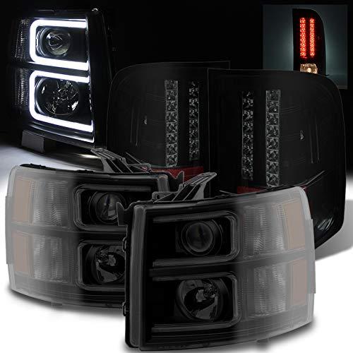 09 silverado smoked taillights - 6
