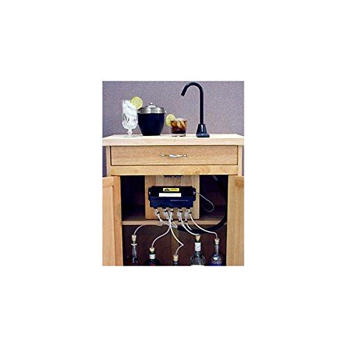 SIDEBAR Electric Liquor & Beverage Dispenser System - Black Spout & Base