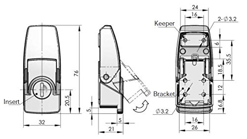 Over Center Draw Latches DKS-2-B