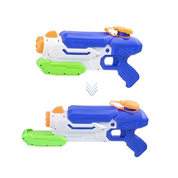 O-Kinee Pistole ad Acqua Giocattolo,Squirt Gun Tiratore delle Pistole Ad Acqua del Giocattolo per I Bambini della… 4 spesavip