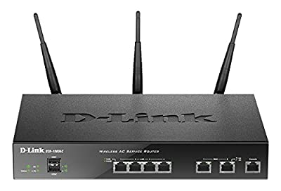 D-Link DSR-1000AC IEEE 802.11ac Ethernet Wireless Router