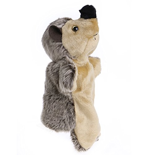 Hedgehog Finger Puppet (JUA PORROR Hand Finger Puppet Toys Cartoon Animal Plush Hedgehog Doll Gift For Baby Kids)