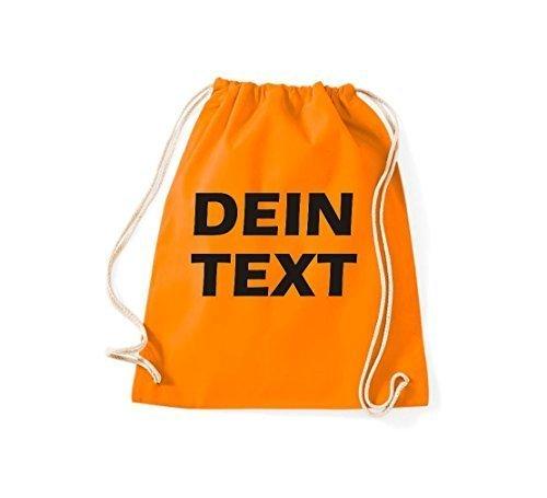 ricerca con shirtstown tutte dotato Palestra QUALCOSA ORIGINALE ideale per Borsa Arancione testo LA REqFwTPE
