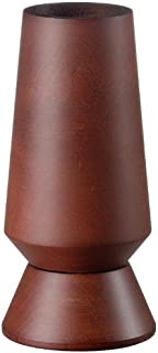 product image for Fletchers' Mill Columbia Salt Mill, Mahogany Stain - 6 Inch, Adjustable Coarseness Fine to Coarse, MADE IN U.S.A.