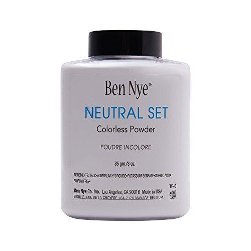 Ben Nye Classic Translucent Face Powder 3 Oz Neutral Set Face Powders (Ben Nye Final Seal Matte Makeup Sealer)