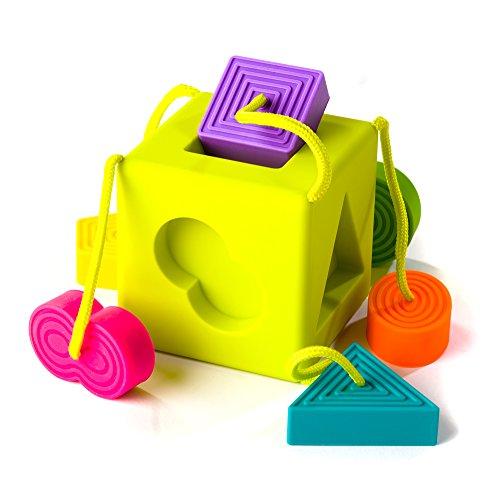 [해외]뚱뚱한 두뇌 장난감 Oombee 큐브/Fat Brain Toys Oombee Cube