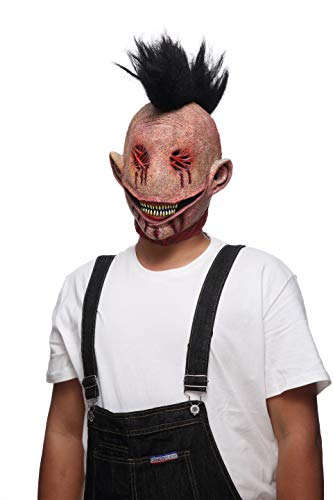 Horrifi Devil Costume Halloween Mask Scary Cosplay Props Bloody Monster Zombie ()