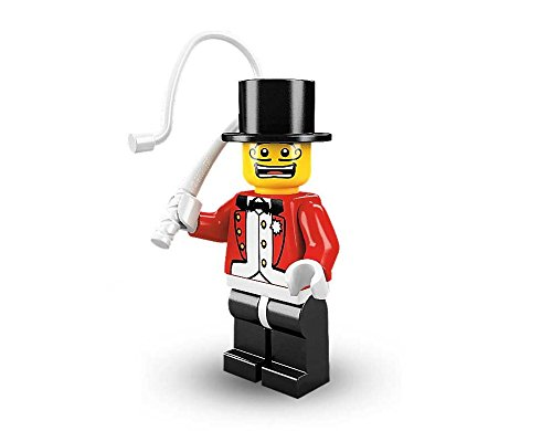 LEGO Minifigures Series 2 Ringmaster Ring Master COLLECTIBLE Figure circus tightropes sawdust trapeze - Circus Miniature