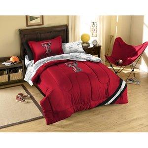 NCAA Texas Tech Red Raiders Twin Bedding Set