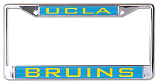 WinCraft UCLA Bruins Premium License Plate Frame, metal with inlaid acrylic, 2 mount holes