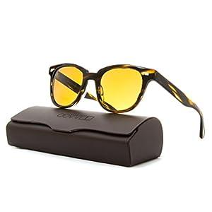 Oliver Peoples Unisex Masek Cocobolo/Cosmik Tone Sunglasses
