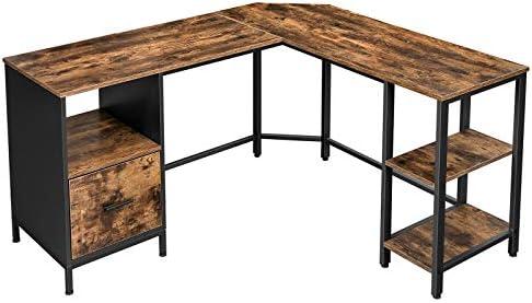 VASAGLE ALINRU Corner Desk