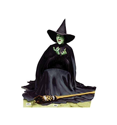 Advanced Graphics The Wicked Witch Melting Life Size Cardboard Cutout Standup - The Wizard of Oz 75th Anniversary (1939 Film)