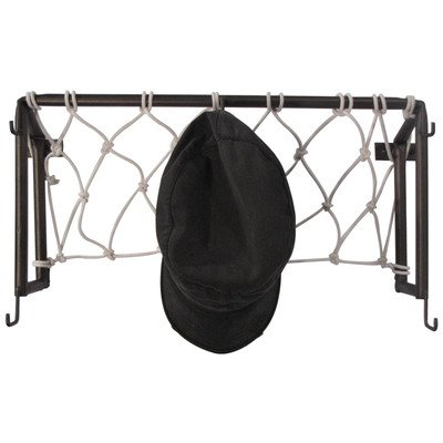 Hall of Fame Soccer Goal Post Coat Rack by Metrotex Designs