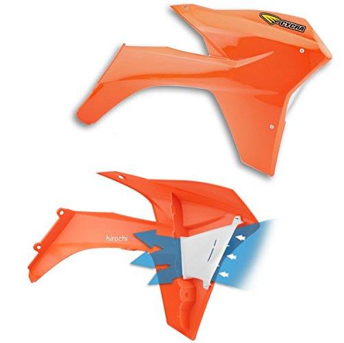 サイクラ CYCRA ラジエーターシュラウド 12年以降 KTM オレンジ 123411 1897-22   B01MSQLB6Q