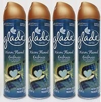 Glade Aerosol, Warm Flannel Embrace 8 oz-4 pack by Glade (Image #1)