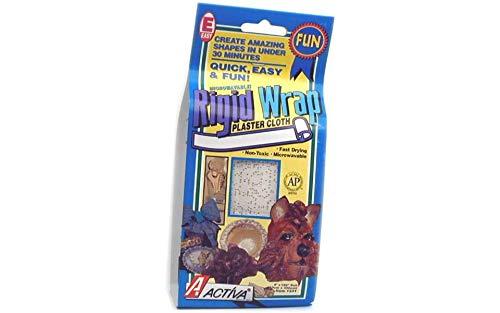 (ACTIVA Rigid Wrap Plaster Cloth, 4 X 180 inches)