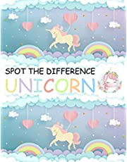 Spot the Difference Unicorn!: A Fun Search and Find Books for Children 6-10 years old