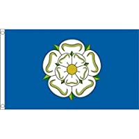 Premium Quality 5Ft X 3Ft 5'X3' Flag Yorkshire Rose England English County