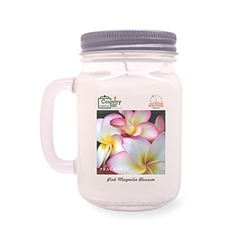 Country Jar Plumeria Soy Candle (14.5 oz. Mason Jar) Spring Pick-3 Sale! See ()