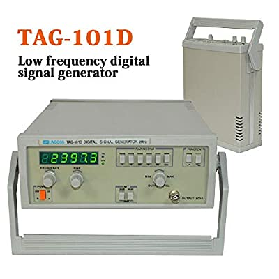 TFCFL TAG-101D Digital Display Signal Generator 6 Phases 0.2Hz~2MHz Frequency
