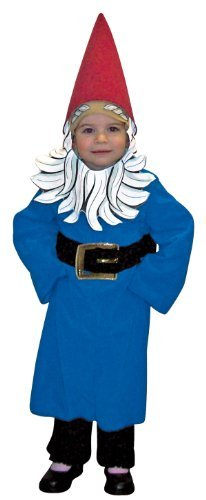 Roaming Costume Travelocity Gnome (Rasta Imposta 181441 Travelocity Roaming Gnome Toddler Costume Red-Blue One-Size -)
