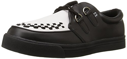 Sneaker Creeper Tuk Unisex Nero / Bianco