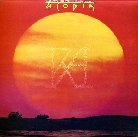 Todd Rundgren's Utopia: RA (Custom Inner Sleeve Contains Lyrics, Recording Data) [Vinyl LP] [Stereo]
