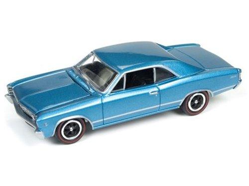 Johnny Lightning JLMC006B 1967 Chevrolet Chevelle Blue Muscle Cars USA 1/64 Diecast Model Car (Diecast Model Chevelle)
